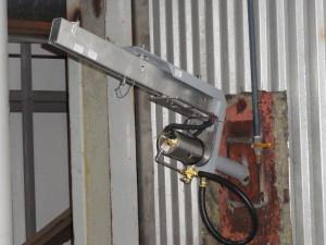 Furnace camera on boiler wall, AR-CFP-M24
